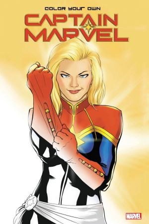 Color Your Own Captain Marvel (Trade Paperback)