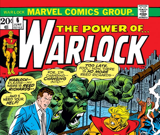 WARLOCK (1972) #6