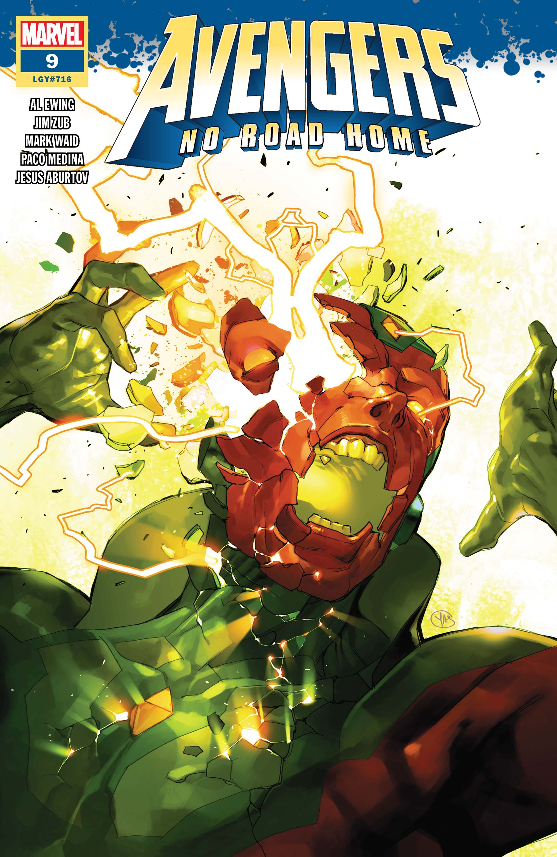 Avengers No Road Home (2019) #9