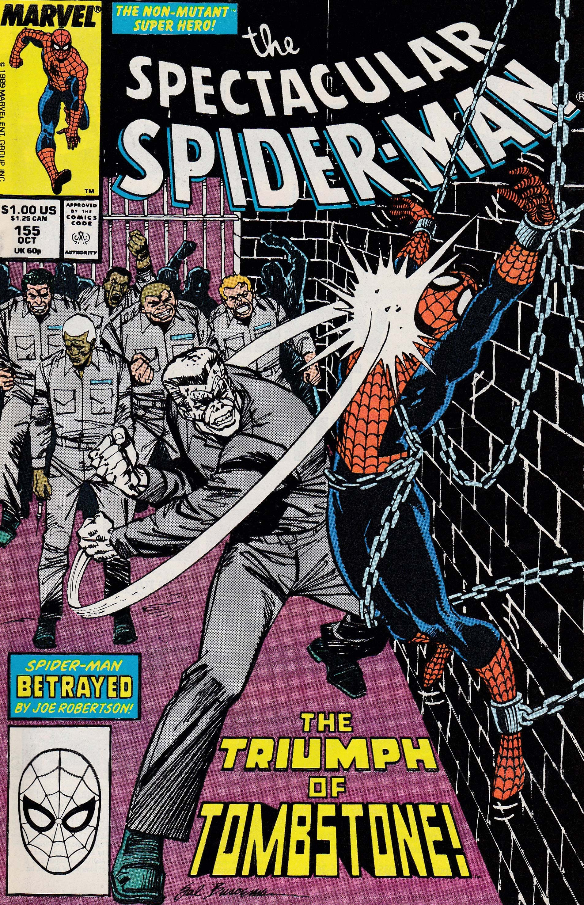 Peter Parker, the Spectacular Spider-Man (1976) #155