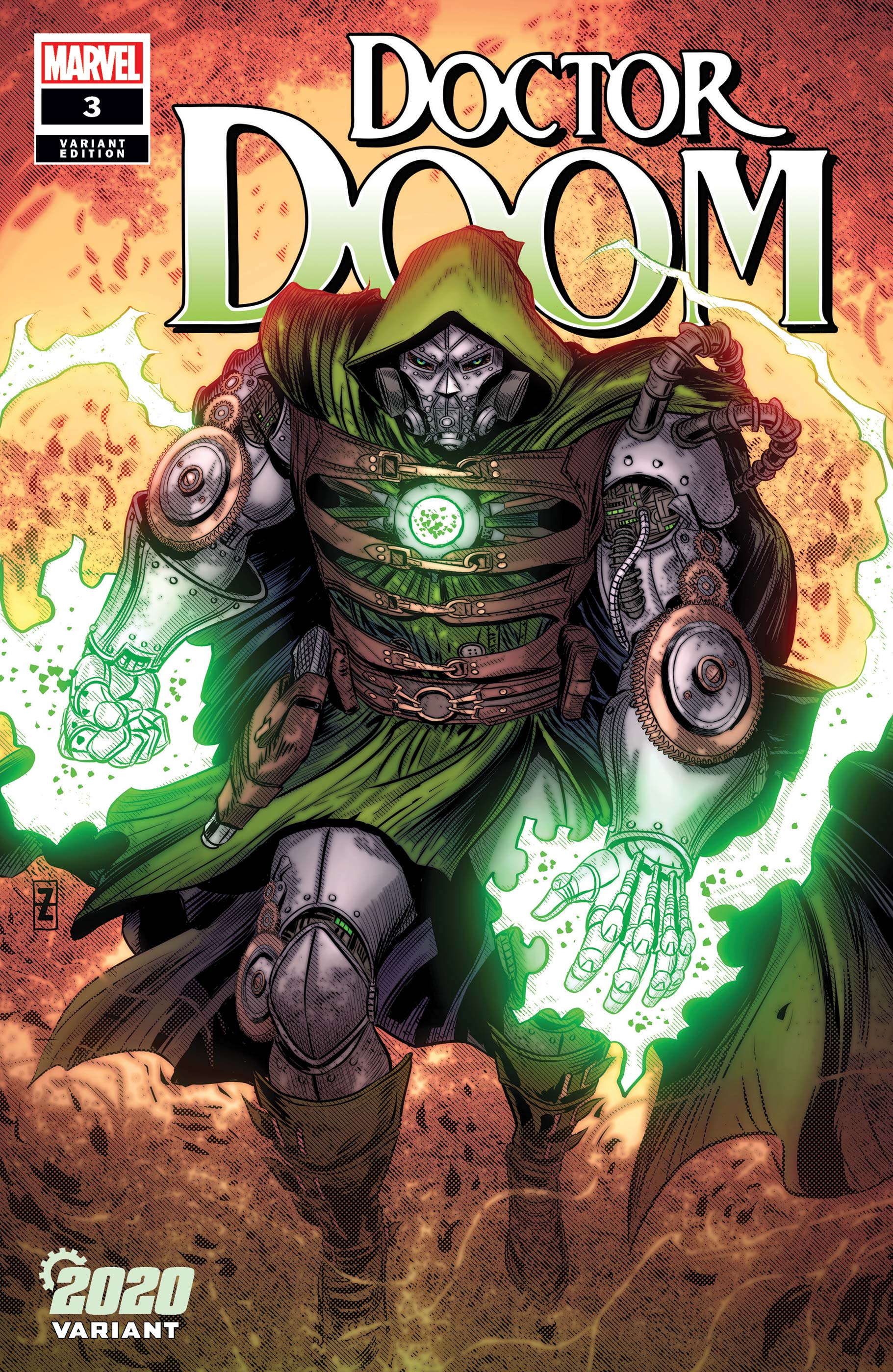 Doctor Doom (2019) #3 (Variant)