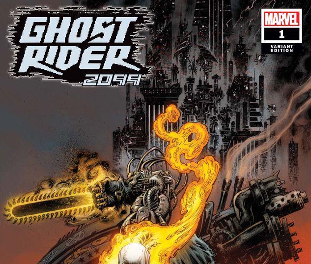 GHOST RIDER 2099 1 HOTZ VARIANT #1