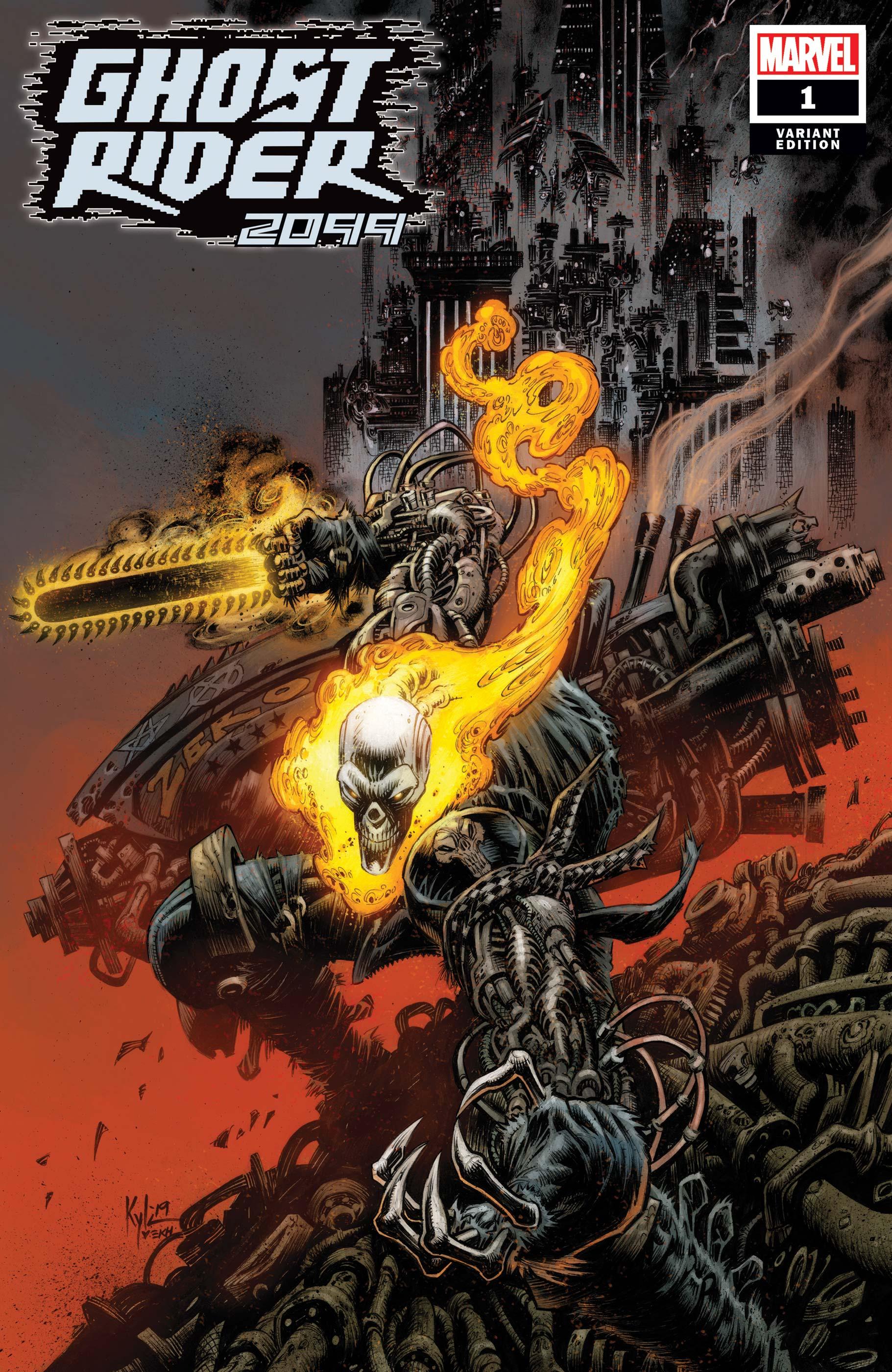Ghost Rider 2099 (2019) #1 (Variant)