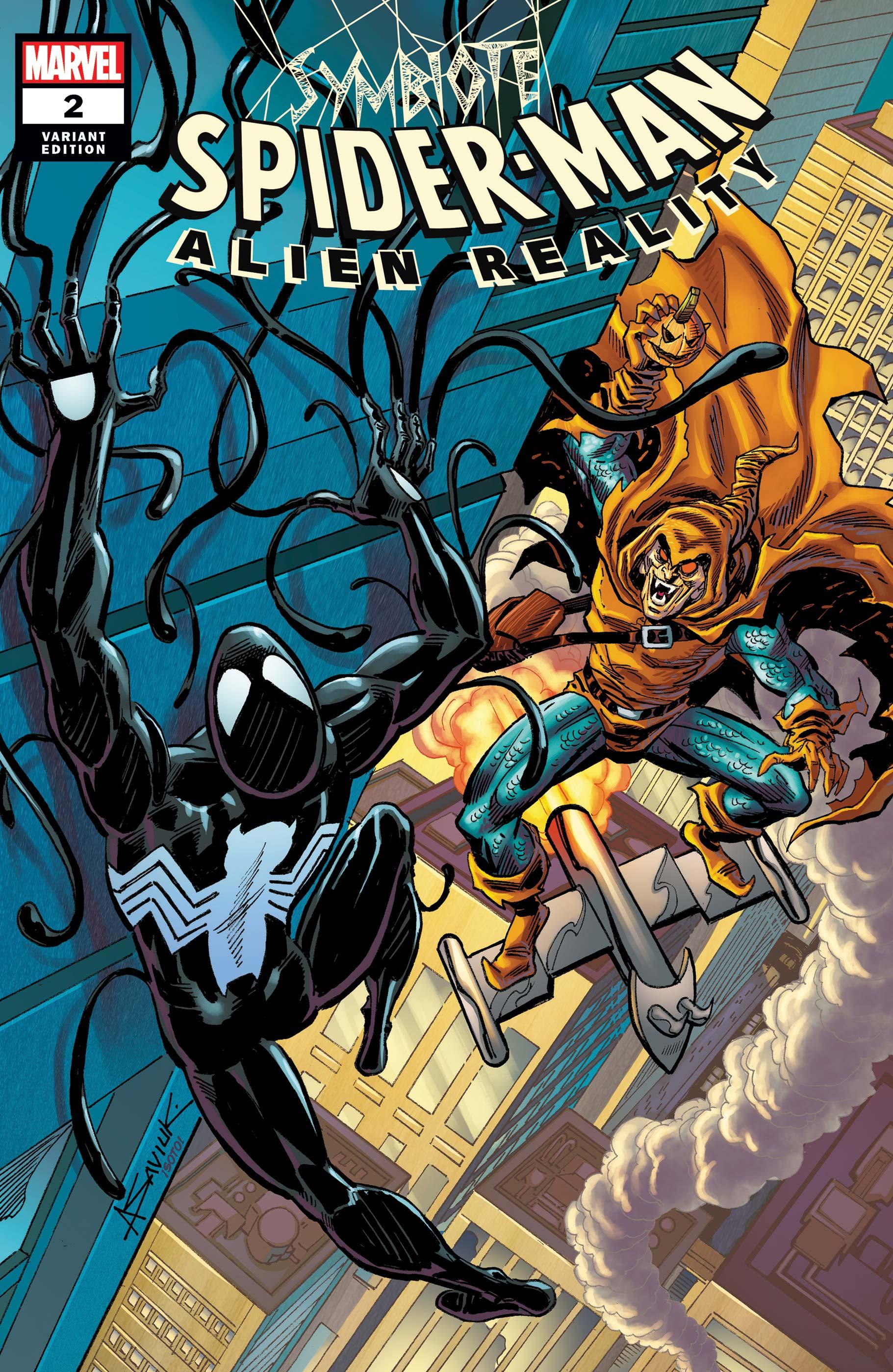 Symbiote Spider-Man: Alien Reality (2019) #2 (Variant)
