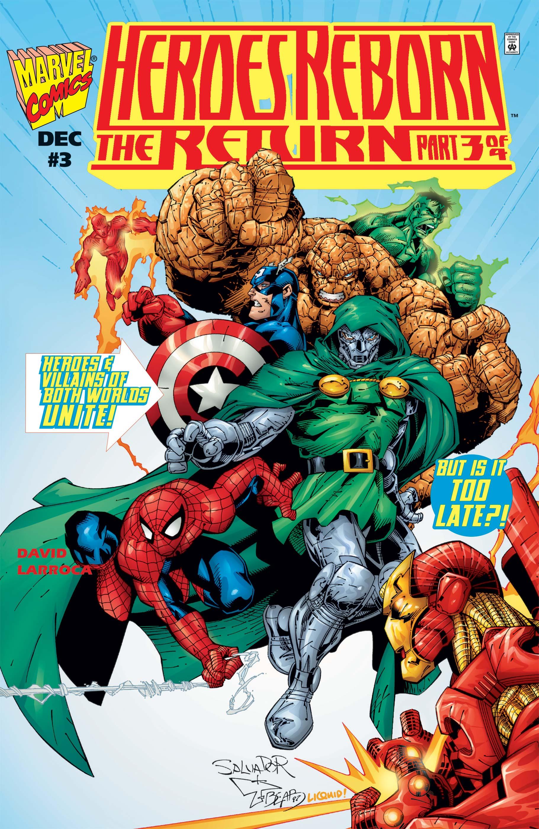 Heroes Reborn: The Return (1997) #3