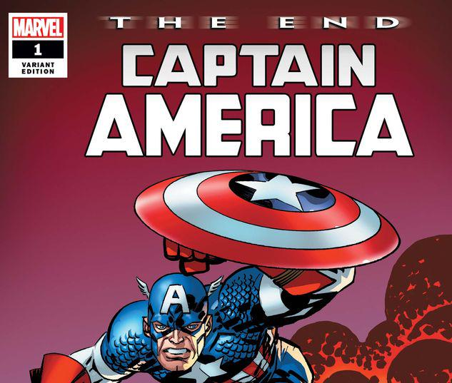CAPTAIN AMERICA: THE END 1 LARSEN VARIANT #1