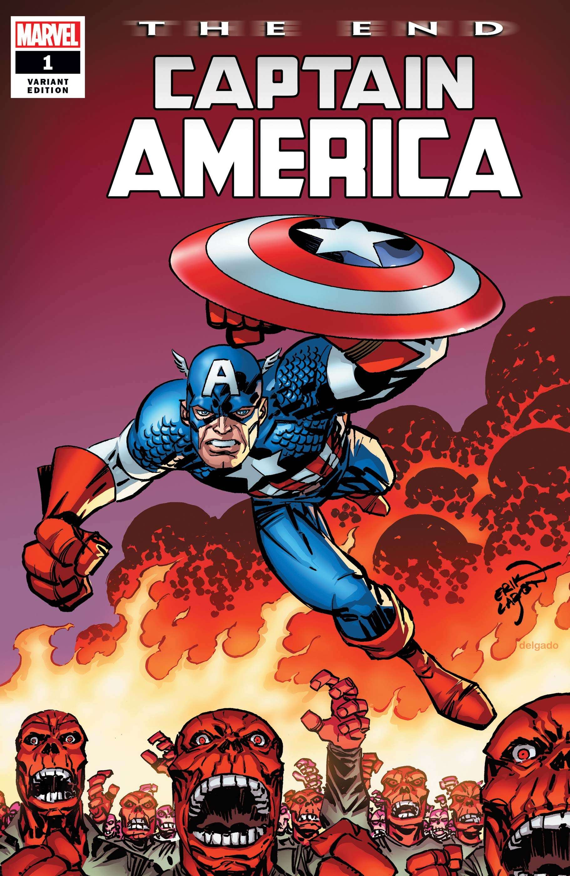 Captain America: The End (2020) #1 (Variant)
