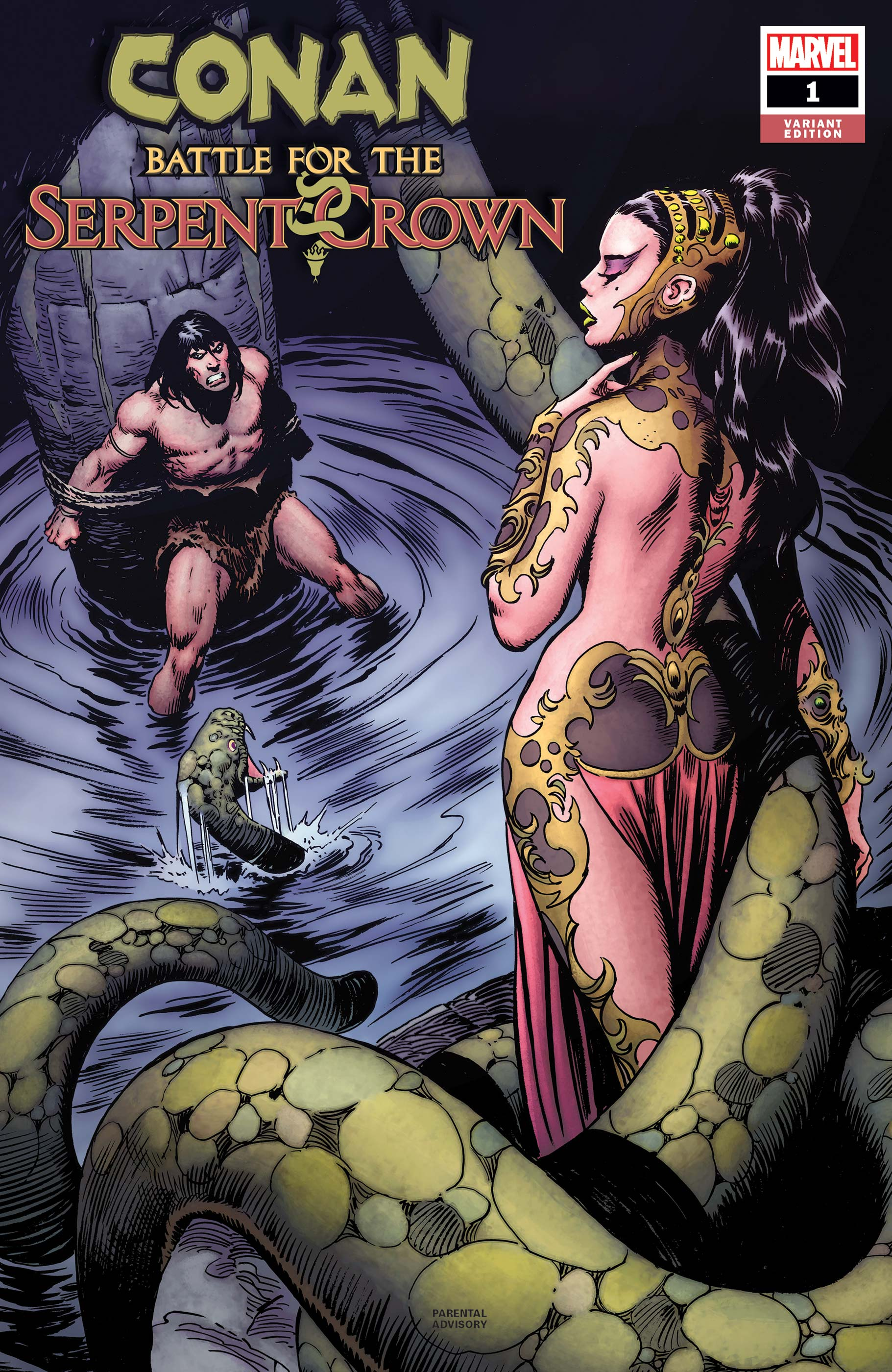 Conan: Battle for the Serpent Crown (2020) #1 (Variant)