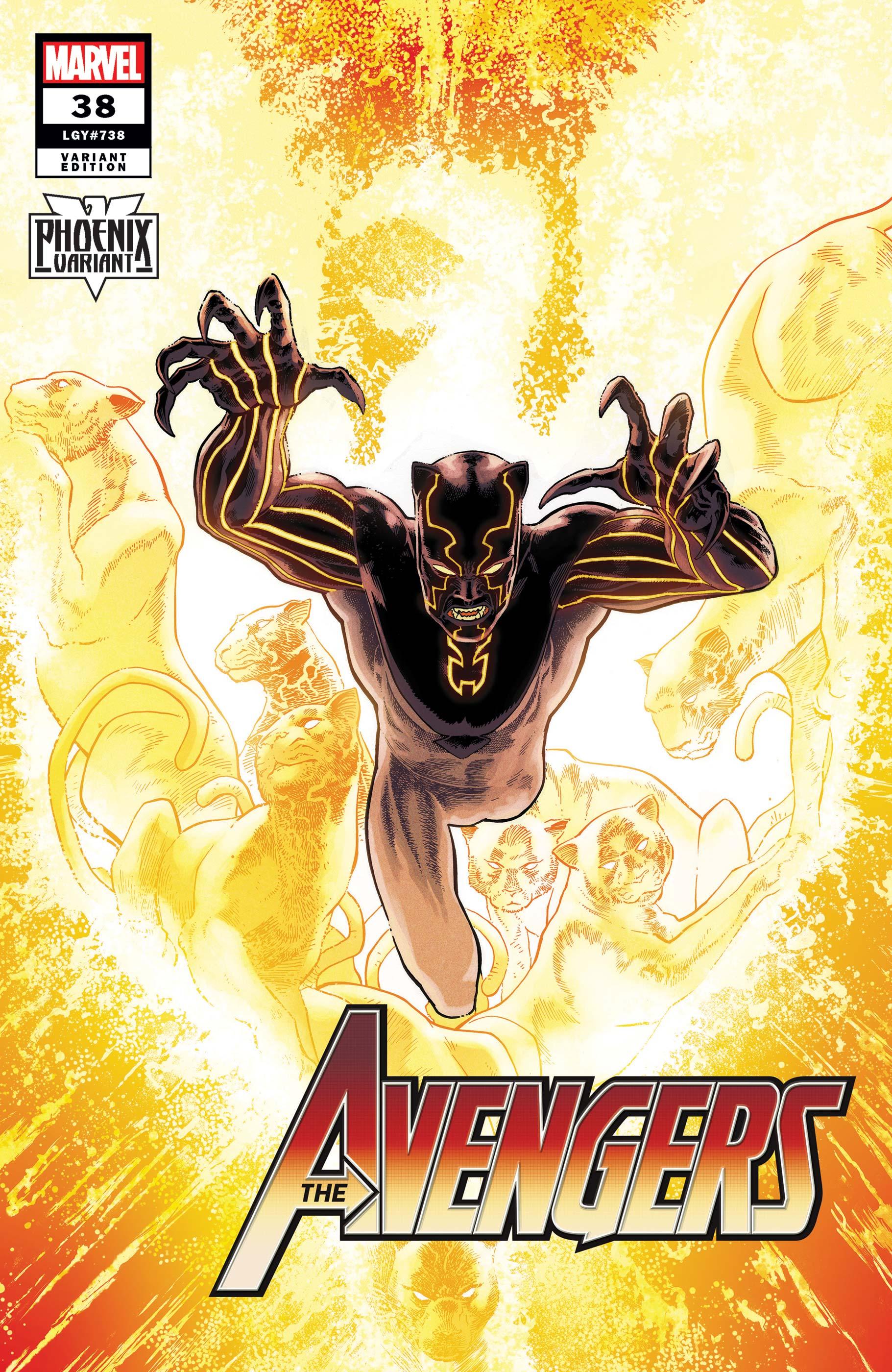 Avengers (2018) #38 (Variant)