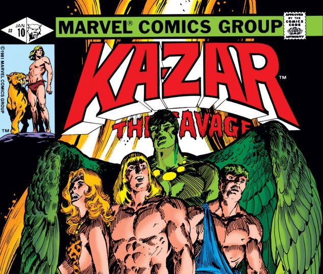 Ka-Zar (1981) #10