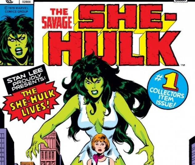 SAVAGE SHE-HULK #1