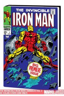The Invincible Iron Man Omnibus Vol. 2 Colan Cover (Hardcover)