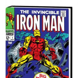 The Invincible Iron Man Omnibus Vol. 2 Colan Cover