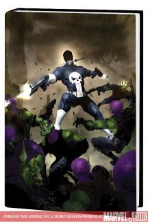 Punisher War Journal Vol. 5: Secret Invasion Premiere (Hardcover)