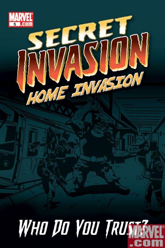 Secret Invasion: Home Invasion Digital Comic (2008) #5