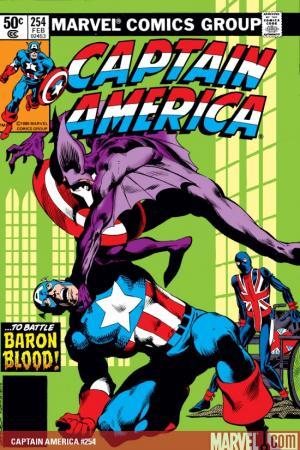Captain America (1968) #254