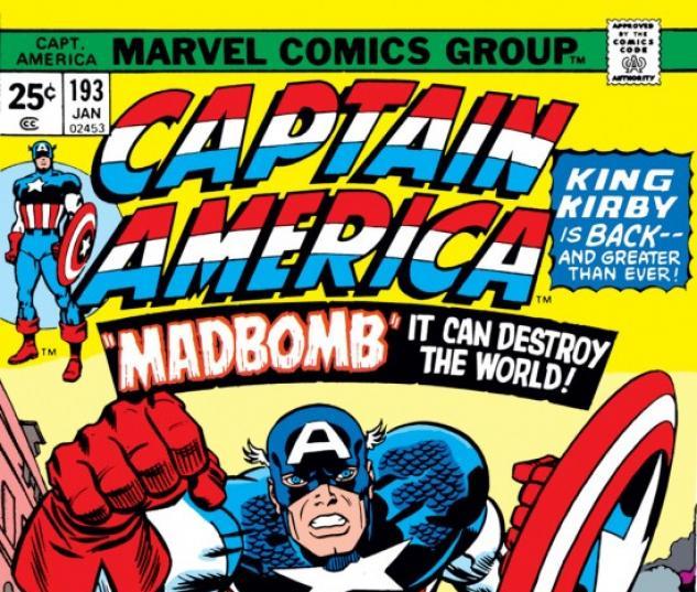 CAPTAIN AMERICA #193 COVER