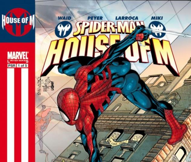 SPIDER-MAN: HOUSE OF M (1995) #1 COVER