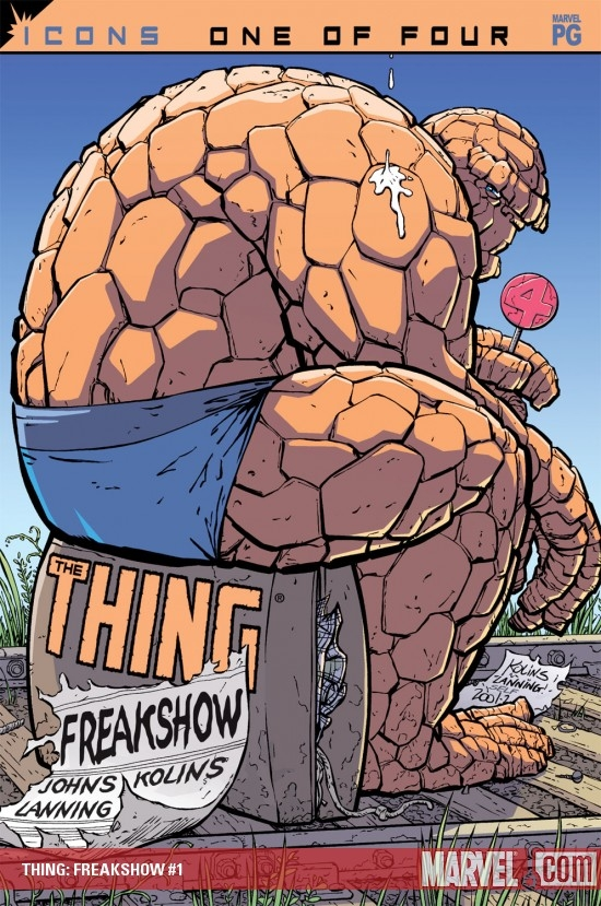 Thing: Freakshow (2002) #1