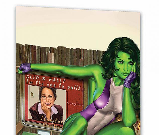 She-Hulk Vol. 4: Laws of Attraction (Trade Paperback)