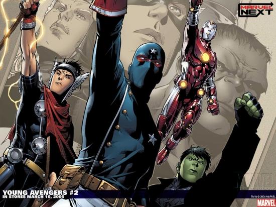 Young Avengers (2005) #2 Wallpaper