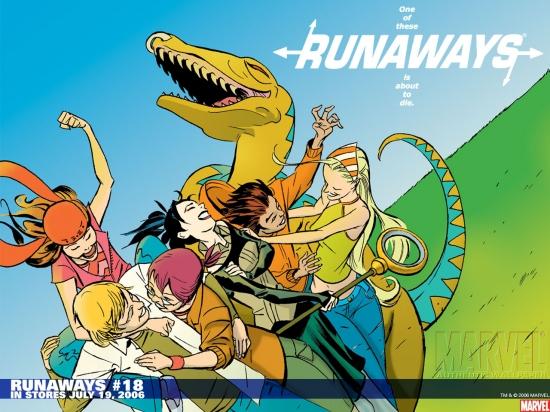 Runaways (2003) #18 Wallpaper