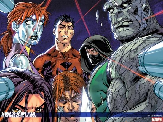 New X-Men (2004) #25 Wallpaper