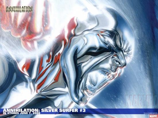 Annihilation: Silver Surfer (2006) #3 Wallpaper