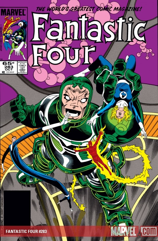 Fantastic Four (1961) #283