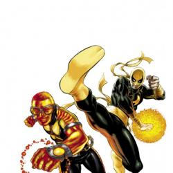 POWER MAN & IRON FIST #1 (2011) cover
