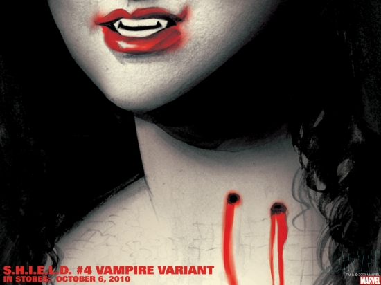 S.H.I.E.L.D. #4 Vampire Variant