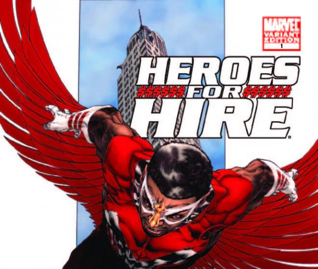 Heroes for Hire (2010) #1, TOLIBAO VARIANT