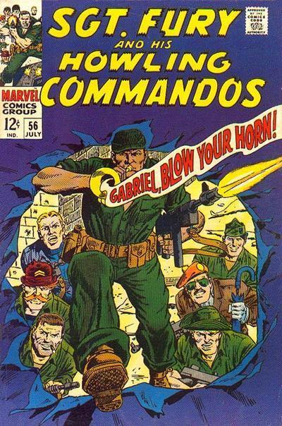 Sgt. Fury and His Howling Commandos (1963) #56