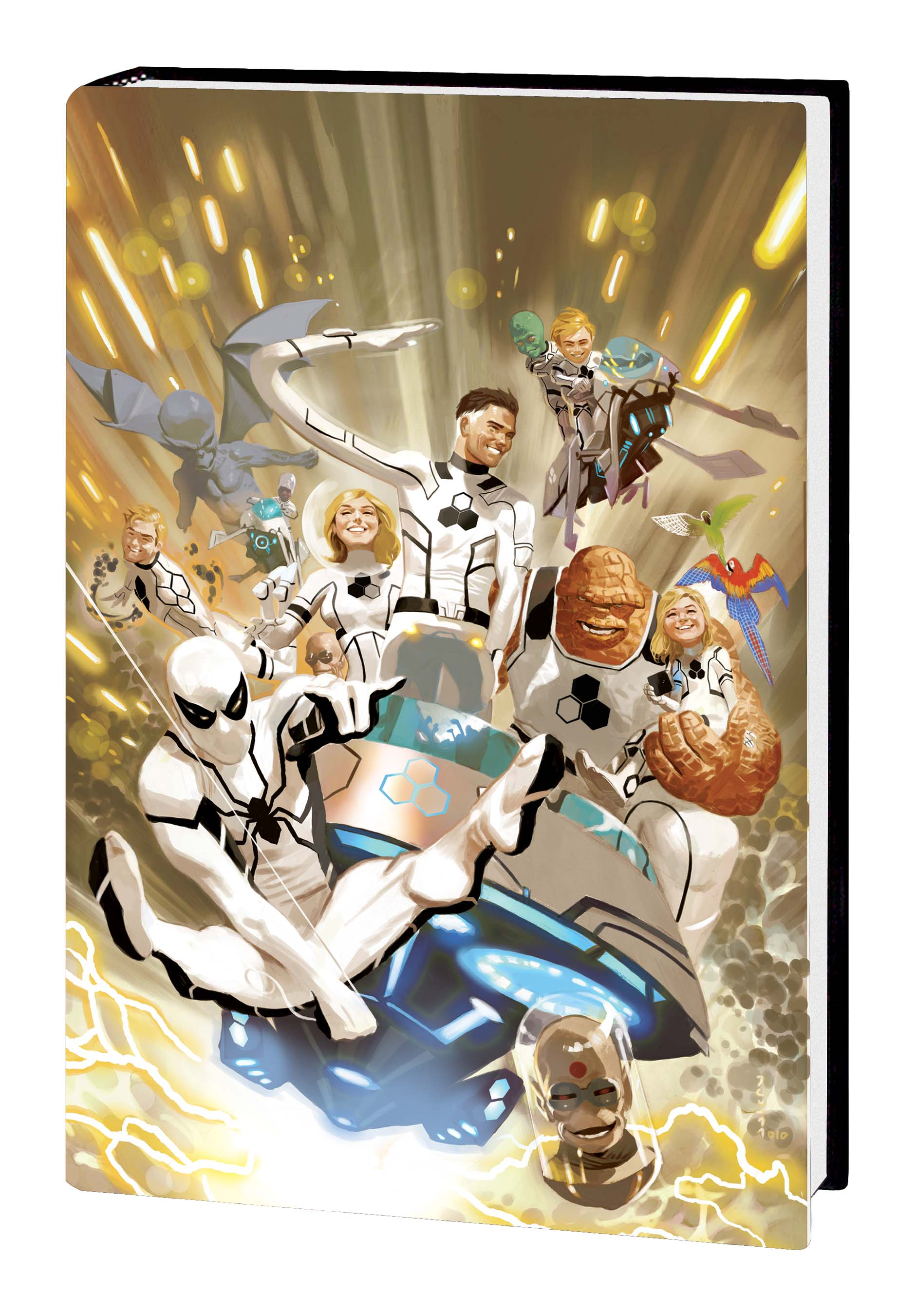 FF BY JONATHAN HICKMAN VOL. 1 ACUNA VARIANT (Hardcover)