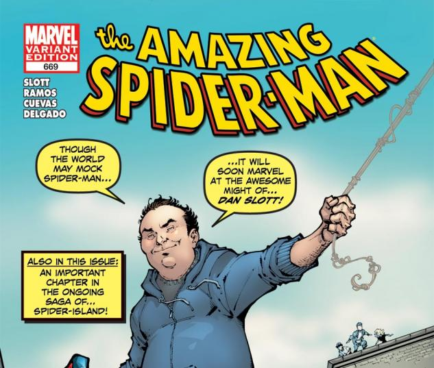 Amazing Spider-Man (1999) #669, Slott Variant