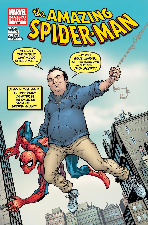 Amazing Spider-Man (1999) #669 (Slott Variant)