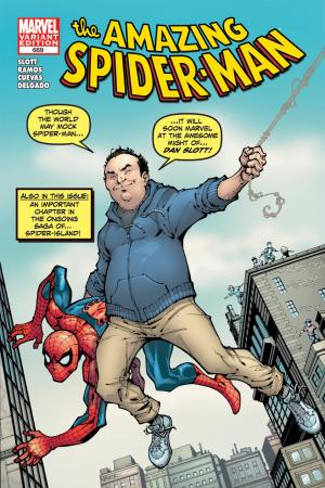 Amazing Spider-Man #669  (Slott Variant)
