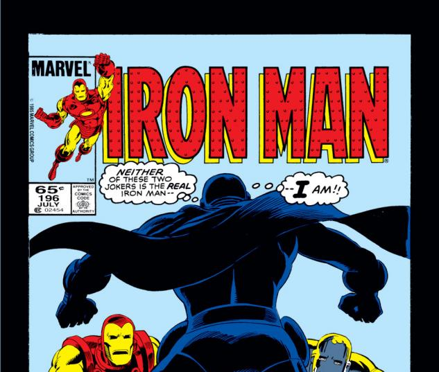 Iron Man (1968) #196 Cover