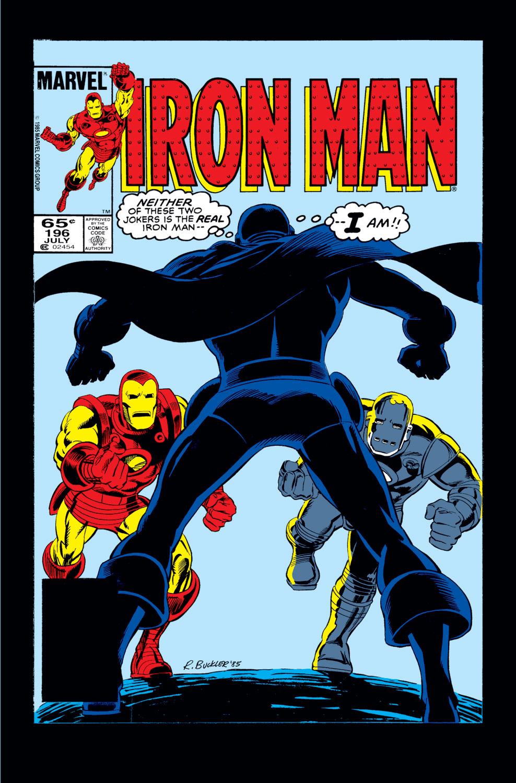 Iron Man (1968) #196
