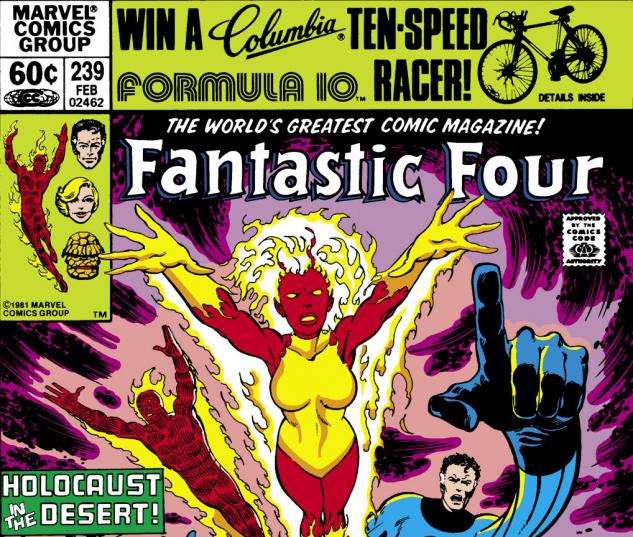 Fantastic Four (1961) #239 Cover