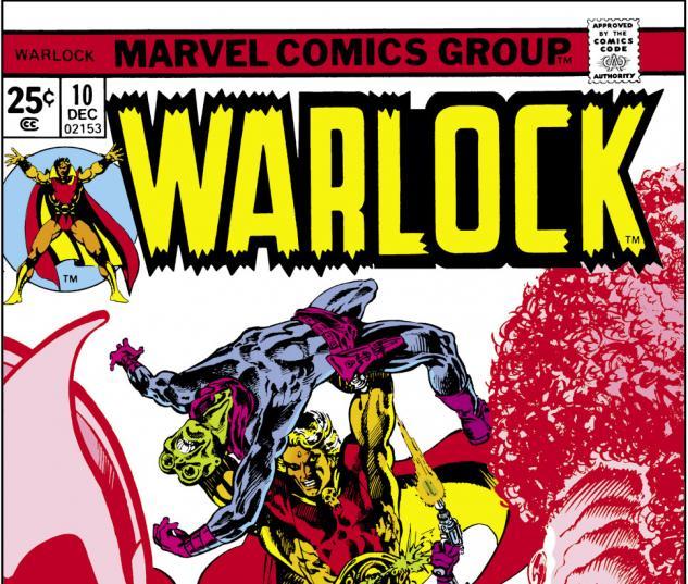 Warlock (1972) #10 Cover
