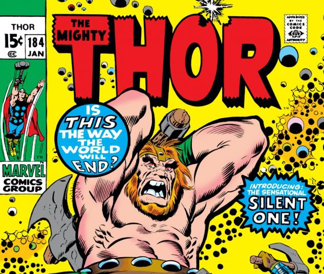 Thor (1966) #184 Cover