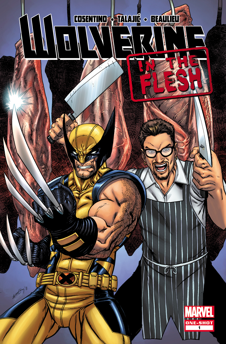 Wolverine: In The Flesh (2013) #1