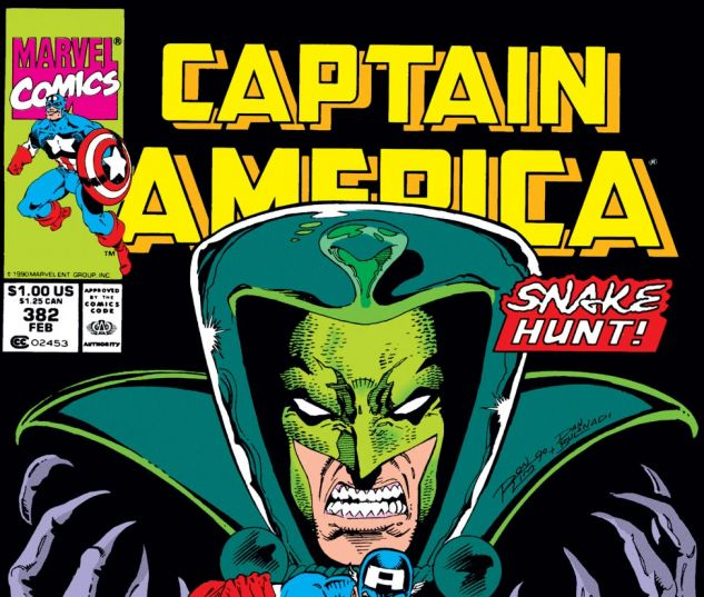Captain America (1968) #382 Cover