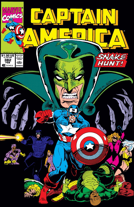 Captain America (1968) #382