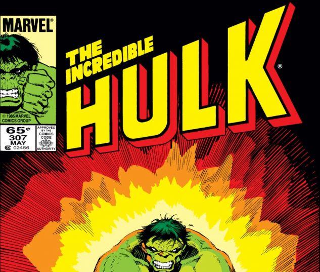 Incredible Hulk (1962) #307 Cover