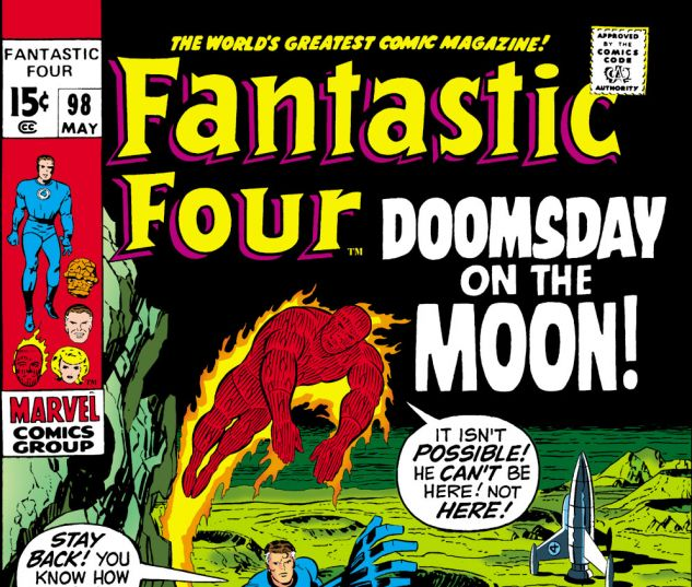 Fantastic Four (1961) #98 Cover