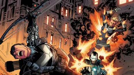 Avengers (2012) #35 preview art by Jim Cheung