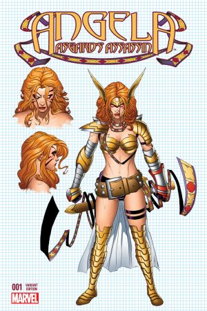 Angela: Asgard's Assassin #1  (Quesada Design Variant)