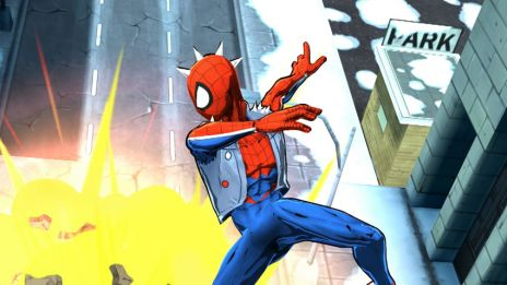 Spider-Punk in Spider-Man Unlimited